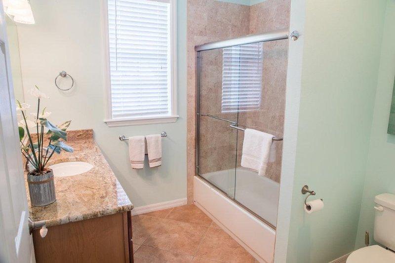 begane grond een complete badkamer