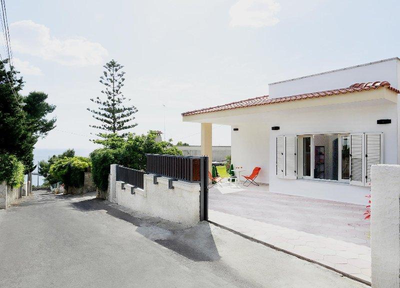 External view of the villa