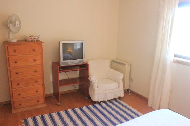 Esquina de la habitación doble. Los calentadores y ventiladores disponibles