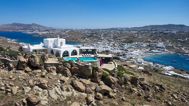 Panorama Villa, location de vacances à Agios Ioannis