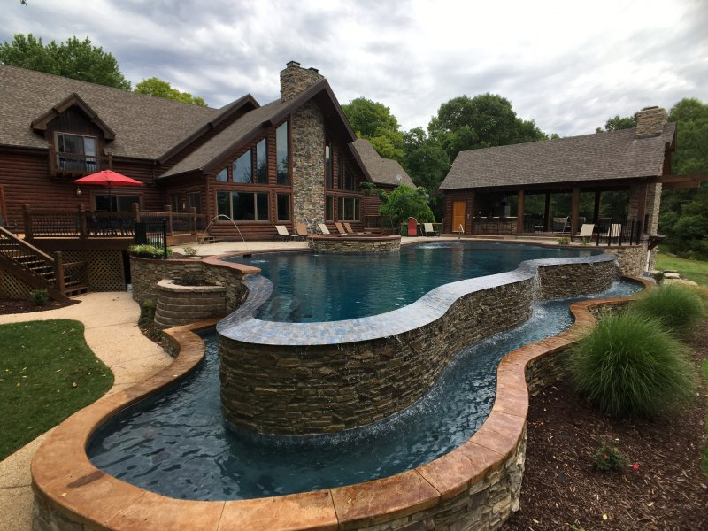 Brand new pool and hot tub completed in May 2017!!!