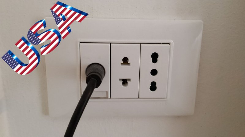 European and American Power Outlet