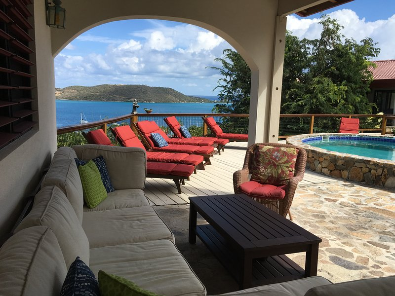 Tamarind - Virgin Gorda Overlooking North Sound, holiday rental in Little Trunk Bay