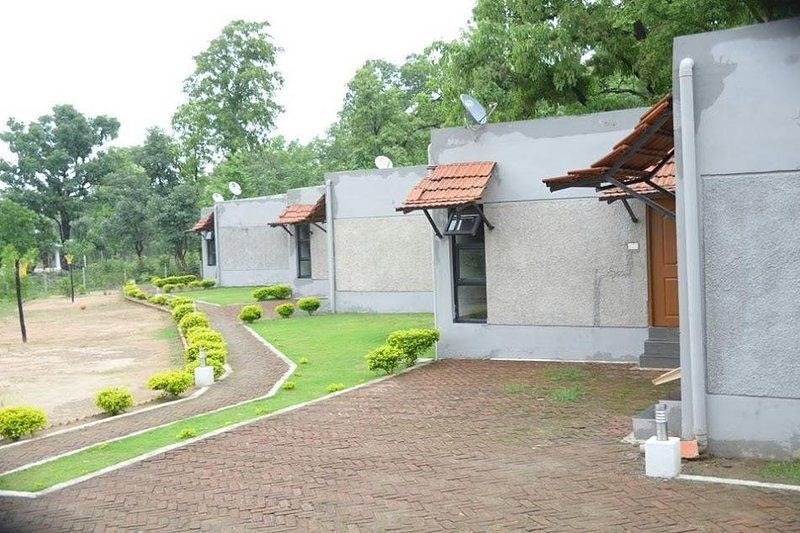 Kanha Kiskindha Room 9, location de vacances à Madhya Pradesh
