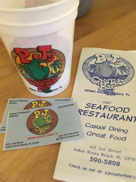 PRIME! 2 boissons gratuites à notre restaurant préféré sur Indian Rocks Beach! Maintenant, ce que cha » attendre?