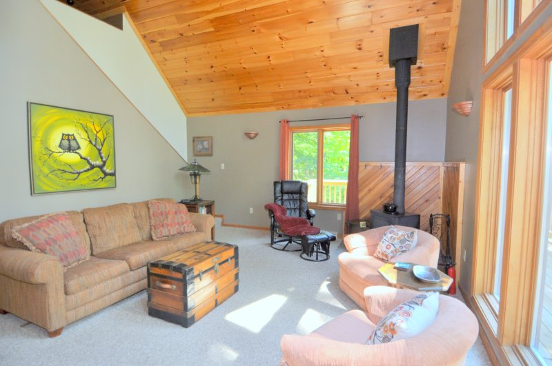 The large living space is great for spending time together.