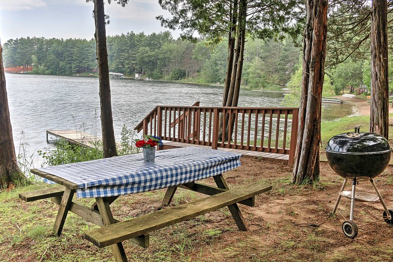 Feel all your worries and cares melt away at  this 2-bedroom, 1-bathroom Wild Rose vacation rental condo.