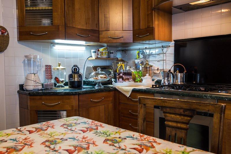 Parte da cozinha