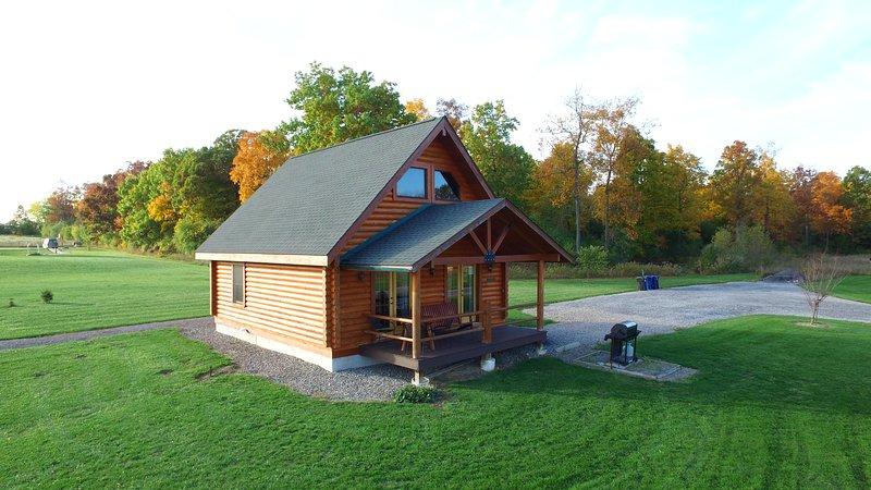 Honeoye Log Cabin at Cobtree