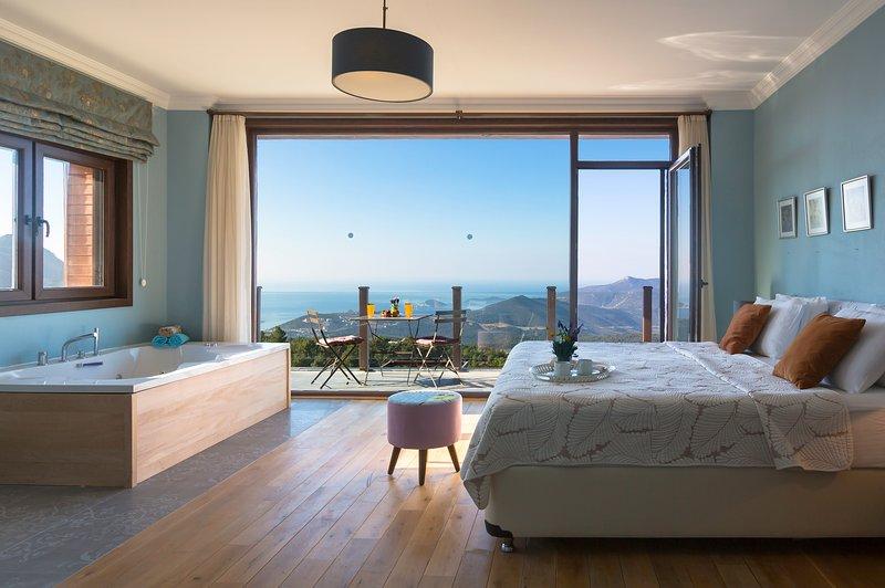 Master Bedroom and its balcony