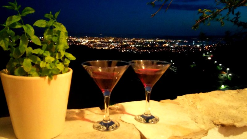 Magical view of Split *Klis*, holiday rental in Klis