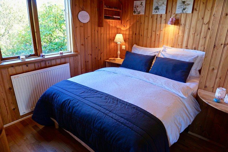 Dormitorio II (con camas de alta calidad y cortinas opacas)
