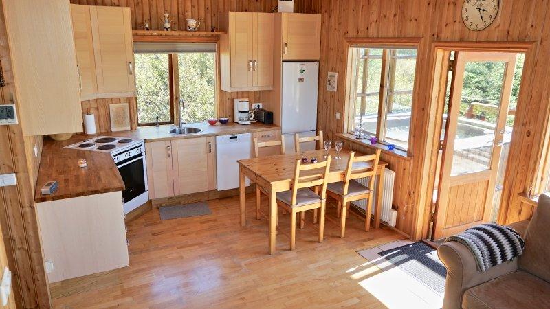Abrir la cocina / sala de estar con todas las comodidades