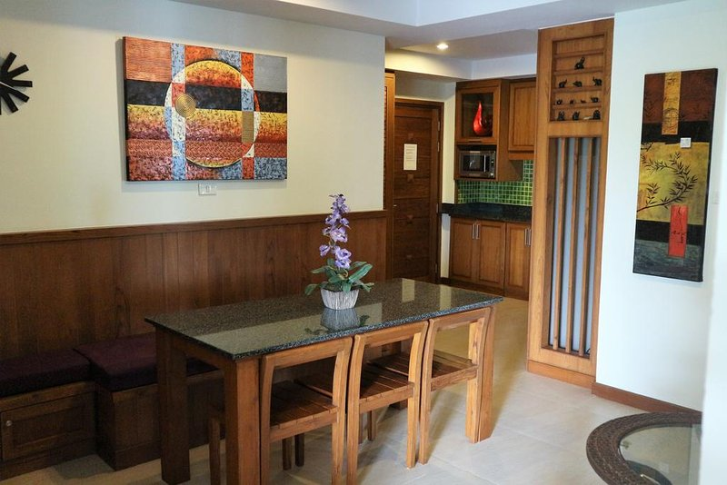 Khanom Beach Residence, Thailand - 3-bedroom Furnished  Condo with Sea View, holiday rental in Nakhon Si Thammarat Province