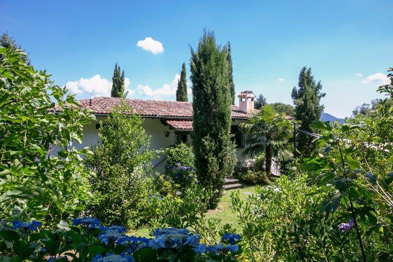 Garden of the villa