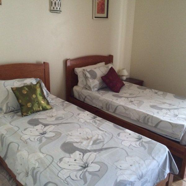 camera da letto al piano di sotto.