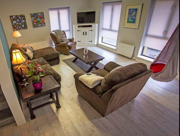 Barn  Sitting Room - open plan