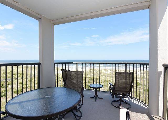 Duneridge 2409 Oceanfront Balcony