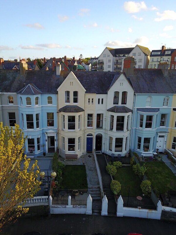 Aerial view - Victorian period property dated 1883