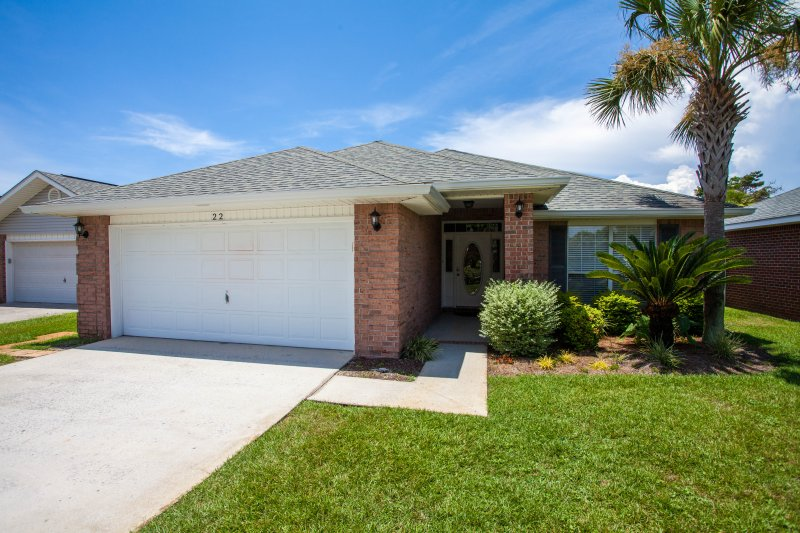Four bedrooms in a gated community