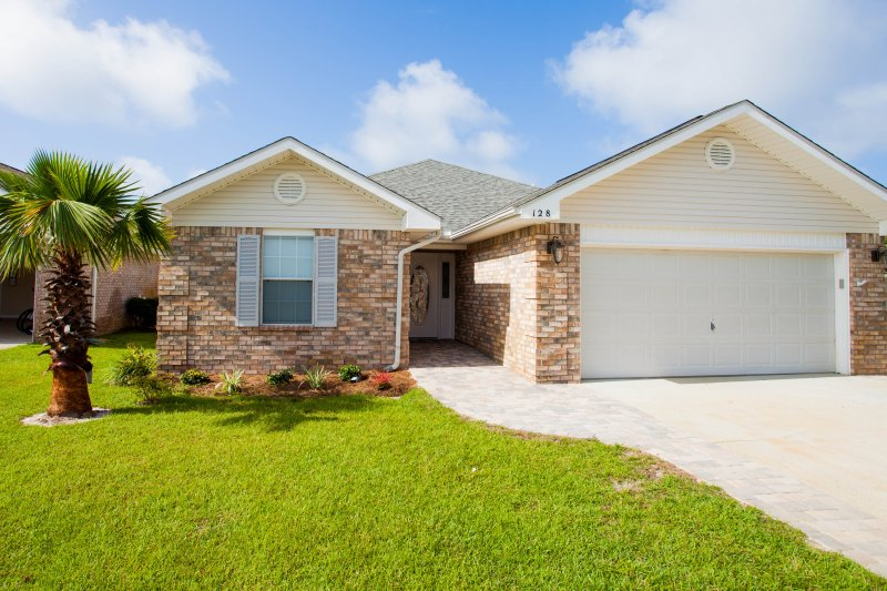 A four bedrooms in a gated community