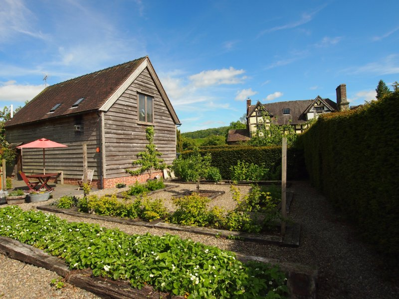 The Hayloft at Rushbury Manor, holiday rental in Diddlebury
