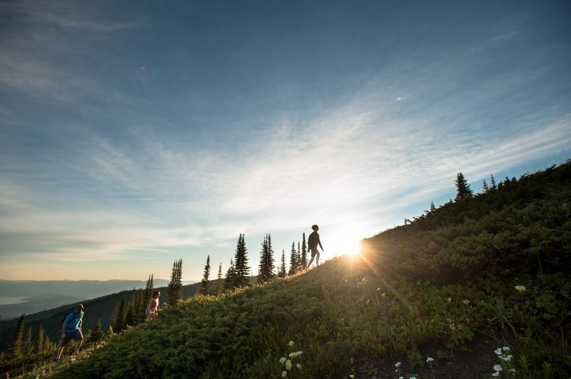 Beautiful views and great photo opportunities await you at Silver Star Mountain.