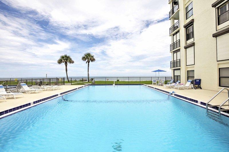 Packen Sie Ihren Badeanzug und ziehen Sie sich in diese Ferienwohnung in St. Augustine zurück!