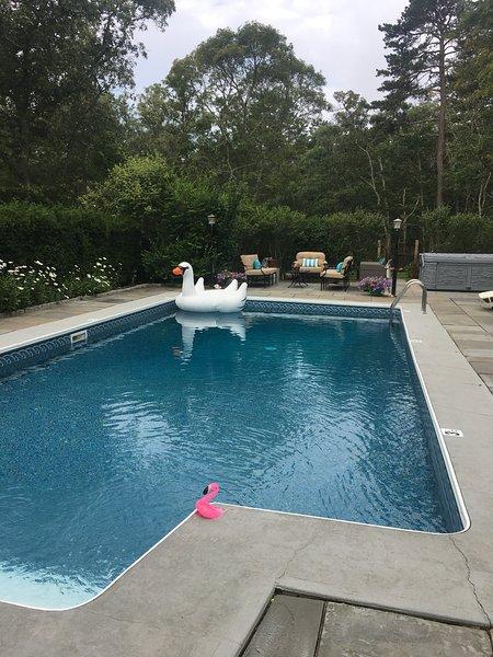 Heated Pool in your backyard