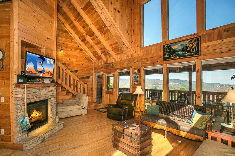 God's Grace (Breathtaking views with privacy), vacation rental in Gatlinburg