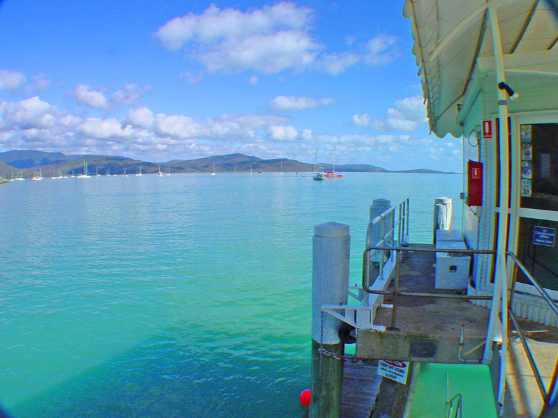 Airlie Beach House aka 'The Boathouse' central, absolute oceanfront, vacation rental in Airlie Beach