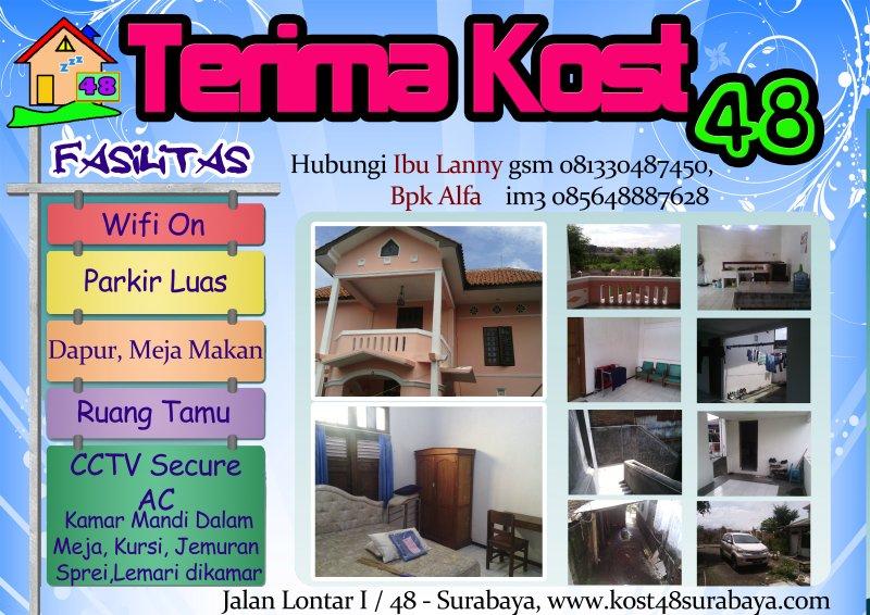 Kost 48 Surabaya Barat Dekat Mall Pakuwon,  Spasio,, alquiler vacacional en East Java