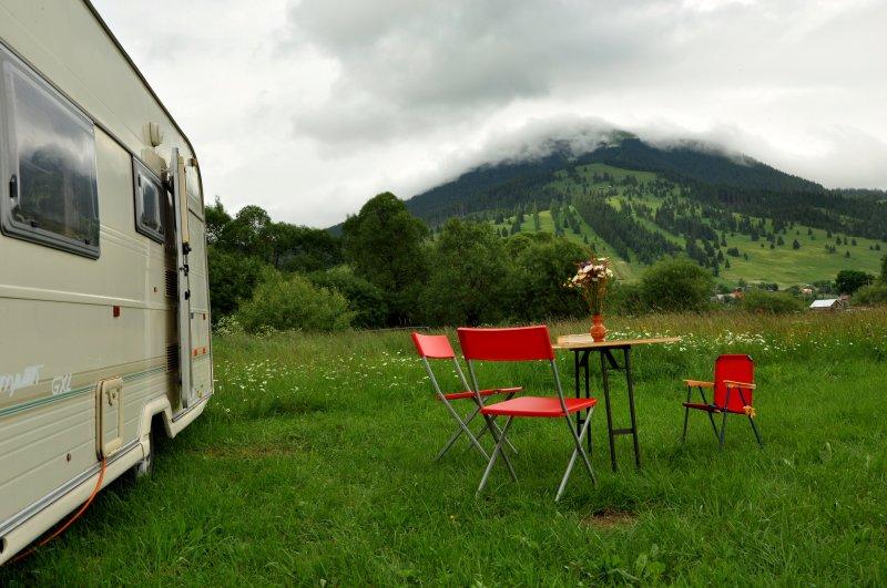 Caravan in Bucovina's Mountains, vakantiewoning in Vatra Dornei