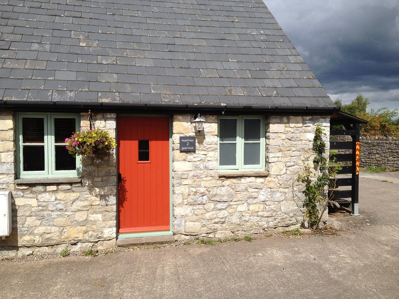 Swallow Cottage, the front door.
