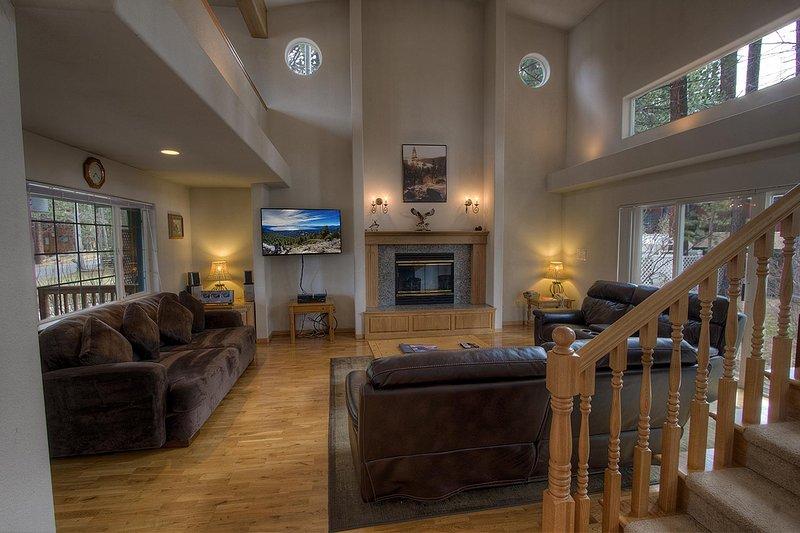Banister, Main courante, Escalier, canapé, meubles
