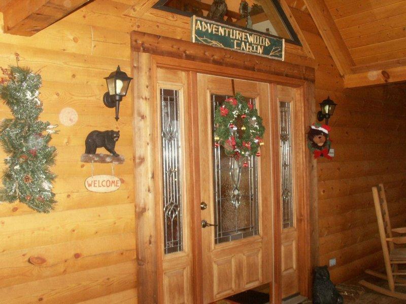 Adventurewood Entrar entrada de la cabina
