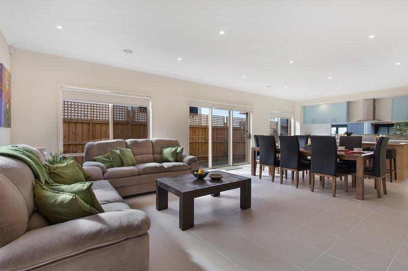 Espaces de vie spacieux et confortable
