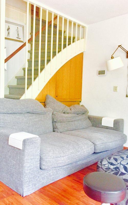 Livingroom to first floor