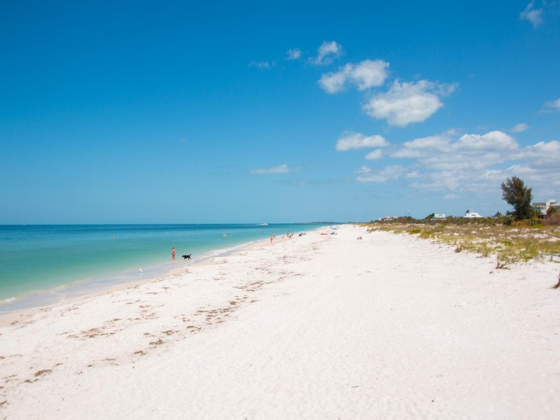 Come put your toes in the white sands of Clearwater Beach.
