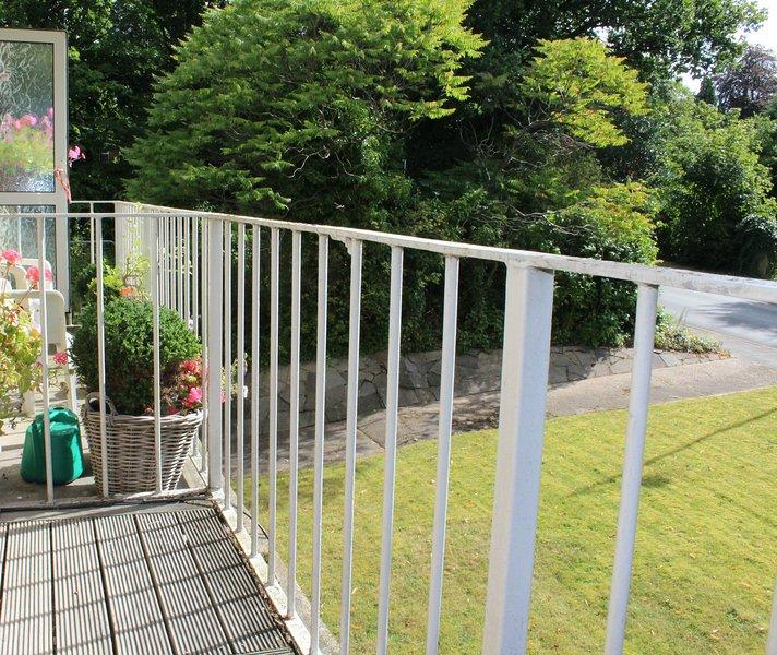 Balkon uitzicht