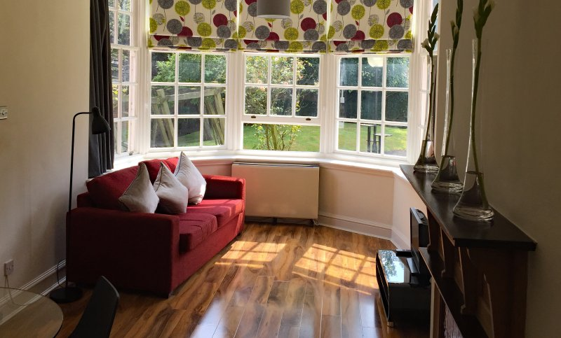 Lounge at Feversham House overlooking York Minster and the City Walls