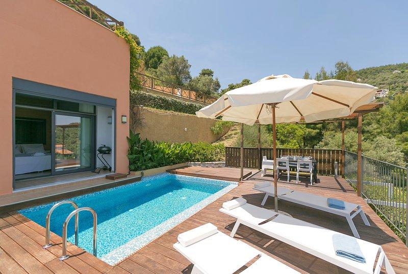 SKIATHOS GEA VILLAS/VILLA CASSIOPE, holiday rental in Vasilias