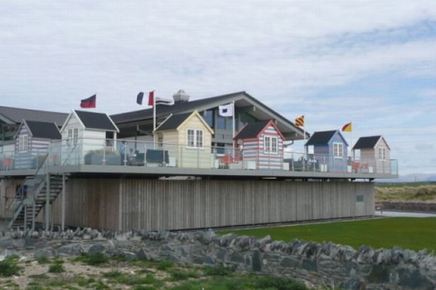 the Oystercatcher Restaurant in the Rhosneigr Dunes
