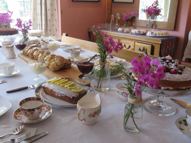 Book an Afternoon Tea at Home Farmhouse Strensham Worcestershire