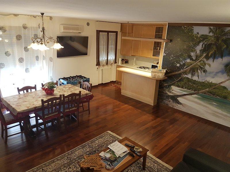 Bellissimo appartamento zona Fiera / Padova, vacation rental in San Giorgio in Bosco