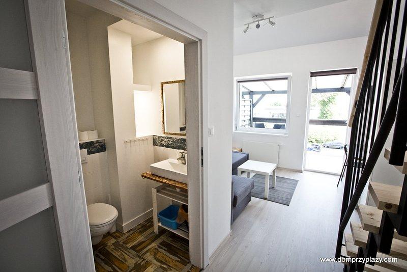 Dom przy plaży w Dąbkach Bed & Breakfast, location de vacances à Osieki