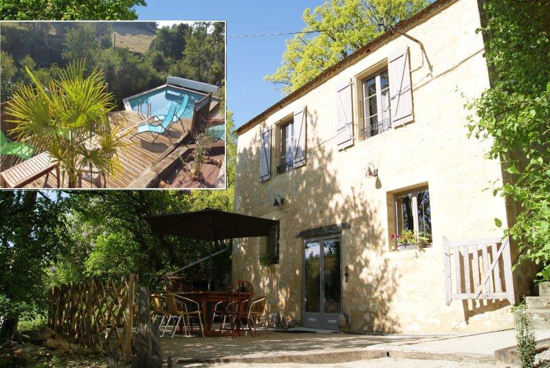 Maison Marianne et sa piscine en Périgord Noir, holiday rental in La Bachellerie