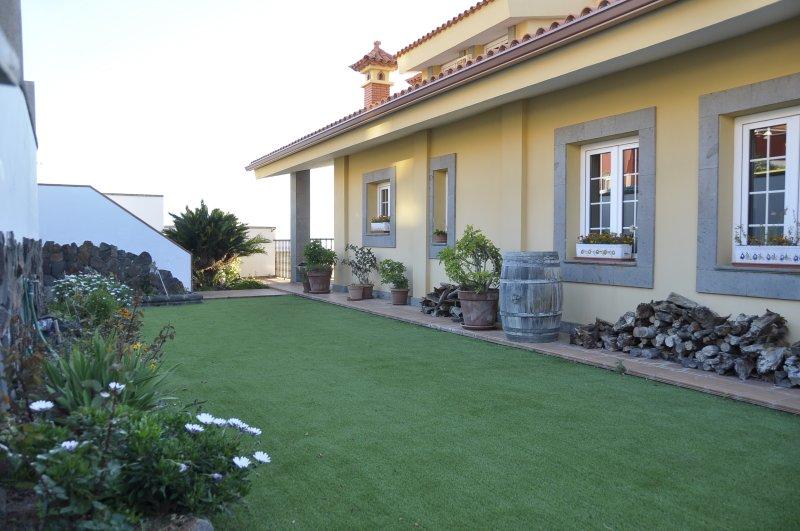 Jardin privé.