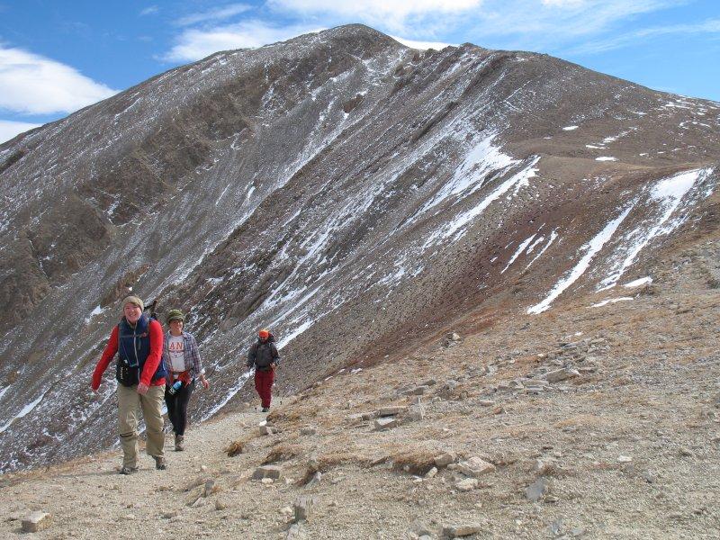 Veel van de nabijgelegen wandelroutes in de Bridger & Crazy Mountains.