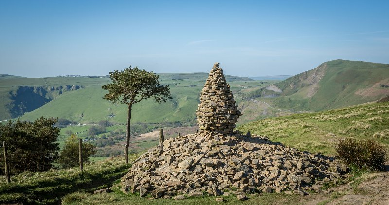 The Cairn on Back Tor